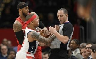 NBA įvertino I.Thomaso rekordiškai greitą išvarymą iš aikštės