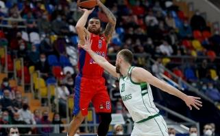 CSKA sprendžia klausimą dėl M.Jameso bei nusitaikė į M.Hezonją