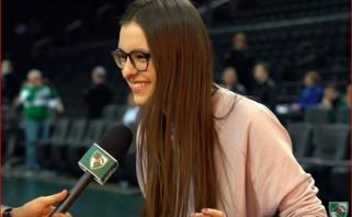"""Eurovizijos atranką laimėjusi I.Zasimauskaitė: esu """"Žalgirio"""" fanė iki kaulų smegenų"""