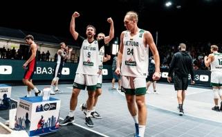3x3 Europos taurės pirmąjį etapą įveikusios Lietuvos rinktinės sužinojo varžovus ketvirtfinalyje