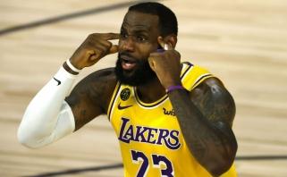 """""""Lakers"""" žaidė nerezultatyviausiai šį sezoną, """"Celtics"""" – rezultatyviausiai nuo 1992-ųjų (rezultatai)"""
