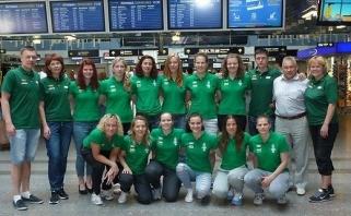 Lietuvos kurčiųjų moterų krepšinio rinktinė išvyko į Taivaną