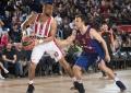 """""""Olympiacos"""" išsivežė pergalę iš Barselonos, buvę žalgiriečiai pasirodė silpnai"""