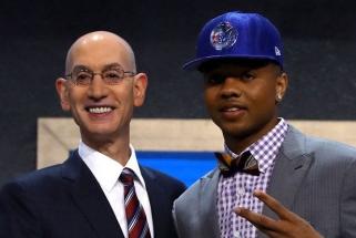 Praūžė NBA naujokų biržos naktis, žalgiriečiui I.Hartensteinui - nusivylimas