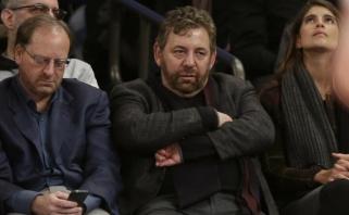 """Koronavirusu susirgo """"Knicks"""" savininkas"""