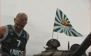 """""""Ryto"""" krepšininkams Kazanėje teks susidurti ir su tankistu"""