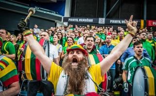 Lietuvių rungtynės su čekais – tarp penkių populiariausių Europoje