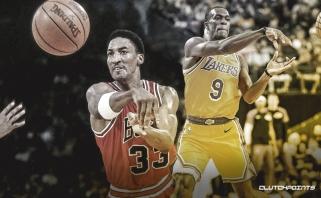 """""""Lakers"""" veteranas R.Rondo aplenkė legendinį S.Pippeną"""