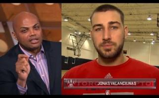 NBA legenda: man patinka J.Valančiūnas, bet jam trūksta pastovumo (video)