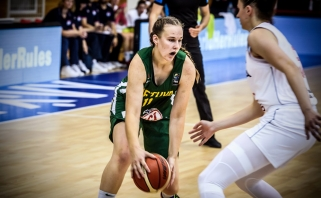 Lietuvės Europos jaunimo čempionato aštuntfinalyje nusileido serbėms