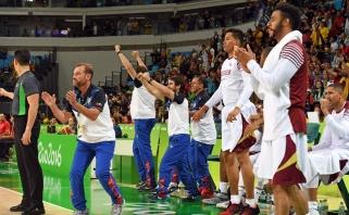Venesuela dramatiškoje kovoje palaužė Kiniją ir iškovojo pirmą pergalę Rio