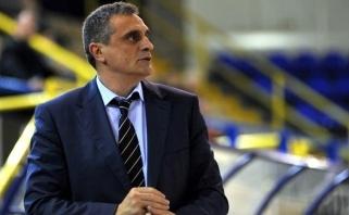 """""""Panathinaikos"""" vairą perėmė gerai pažįstamas treneris"""