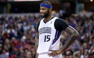 """NBA čempionai neranda sau lygių – nušlavė ir """"Spurs"""", o D. Cousinsas sumetė net 56 taškus"""