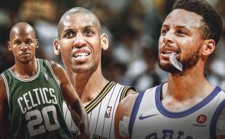 """""""Nets"""" žvaigždžių trio pasiekė pirmąją pergalę, Curry tritaškiais aplenkė Millerį"""