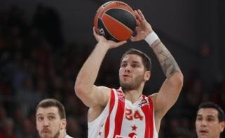 """""""Crvena Zvezda"""" savo sirgalių akivaizdoje iškaršė kailį """"Maccabi"""""""