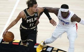 """""""Clippers"""" pergalių serija nutrūko ir dėl nepalankių aplinkybių"""