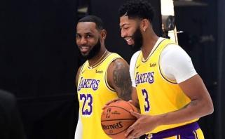 """""""Lakers"""" strategas nepergyvena, kad jo auklėtiniai treniruotis pradės vėliau nei kiti"""