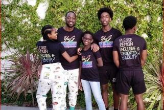 D.Wade'as su šeima aktyviai remia LGBT judėjimą