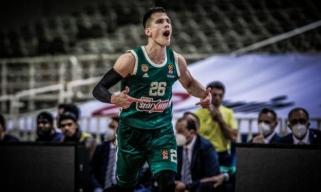 """Fantastiškai žaidęs N.Nedovičius grąžino """"Panathinaikos"""" į pergalių kelią"""