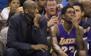 """Be K.Bryanto likęs """"Lakers"""" gėdingai sudaužytas Oklahomoje (rezultatai, statistika)"""