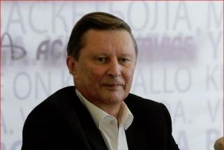 """Ivanovas: """"Žalgiriui"""" buvo liepta pasitraukti iš VTB lygos ir nežaisti su priešiška valstybe"""