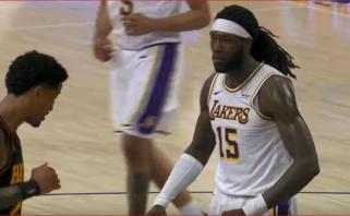 Youngo perdavimas bei galingi Harrello dėjimai – NBA Top 10 viršūnėje