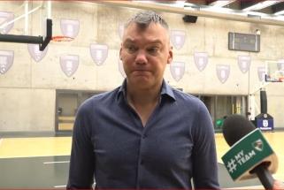 Š.Jasikevičius įvertino grėsmingą ASVEL ekipą ir M.Grigonio situaciją: toli iki jo sugrįžimo