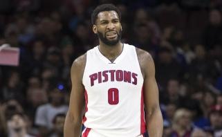 """A.Drummondas pasiekė blogiausią """"+/-"""" rodiklį per visą NBA atkrintamųjų istoriją"""