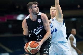 """""""Lietkabelis"""" turnyrą Liepojoje pradėjo pergale prieš Latvijos vicečempionus"""