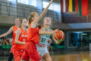 Prieš Europos čempionatą Kaune merginos pralaimėjo paskutinį kontrolinį mačą