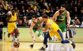 """""""Maccabi"""" namie paskutinėmis sekundėmis nusileido baskams"""