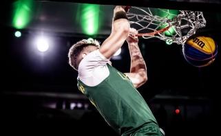 Lietuviai FIBA 3×3 U18 pasaulio taurės ketvirtfinalyje susikaus su JAV