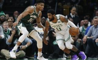 """Bostone dar kartą triumfavę """"Bucks"""" - per žingsnį nuo Rytų konferencijos finalo"""