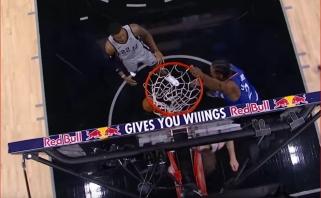Monstriški NBA superžvaigždžių K.Leonardo ir G.Antetokounmpo dėjimai - Top 10 viršūnėje