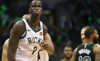 """Legendinio K.Garnetto būsimuoju MVP vadintas T.Makeris pareikalavo būti išmainytas iš """"Bucks"""""""