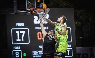 """""""Gulbelė"""" baigė pasirodymą """"FIBA World Tour 3x3"""" turnyre"""