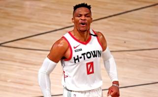 """""""Wizards"""" naujokas Westbrookas mano, kad yra didelė tikimybė tapti čempionu"""