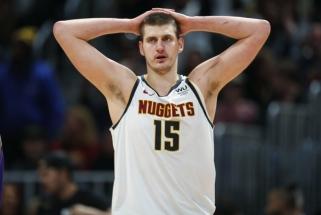 """""""Nuggets"""" į Orlandą išskrido be savo žvaigždės N.Jokičiaus"""