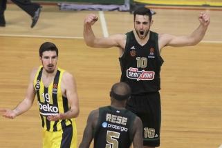 """Eurolyga pripažino: dėl teisėjų klaidos """"Fenerbahče"""" Atėnuose neteko galimybės išplėšti pratęsimą"""