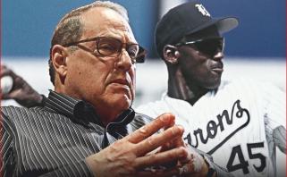 J.Reinsdorfas: mokėjau Jordanui pinigus pagal krepšininko kontraktą, kai jis žaidė beisbolą