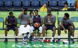 JAV krepšininkai per klaidą atsidūrė Rio viešnamyje