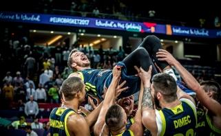 Slovėnija perrašė šalies krepšinio istoriją ir žais Europos čempionato finale