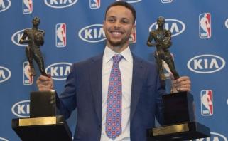 """Lacobas apie Curry 215 mln. kontraktą: Stephas ir yra """"Warriors"""""""