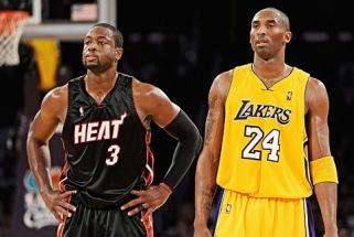 Išrinkti NBA dešimtmečio žaidėjai: K.Bryantui ir D.Wade'ui vietos atsirado tik trečiajame penkete