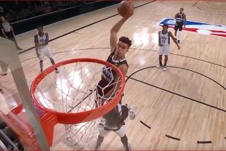 Monstriški J.Browno ir M.Porterio dėjimai - NBA Top 10 viršūnėje