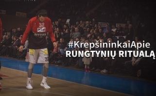 """""""Lietuvos ryto"""" žaidėjai - apie rungtynių ritualą (video)"""