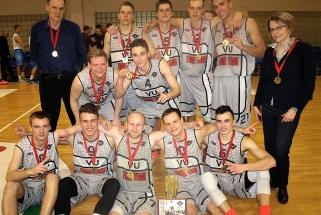 LSKL II divizione triumfavo ISM ekipą įveikę VU studentai, bronza - VGTU