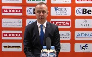 M.Šernius po pergalės sugėdino A.Veličką ir atsiprašė A.Sireikos