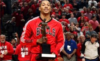 """D.Rose'as svarstys galimybę grįžti į """"Bulls"""", kur sužibo jo žvaigždė"""