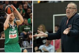 """Italai ironizuoja - """"Žalgiriui"""" Milane laimėti padėjo A.Milaknis ir J.Repeša"""